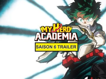 My Hero Academia saison 6 trailer